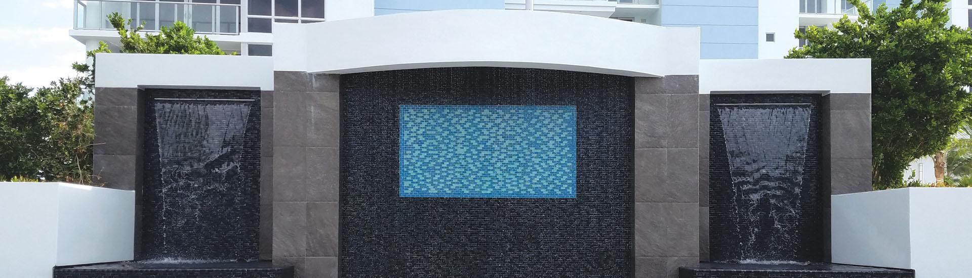 Glass Tile Blends Artistry In Mosaics